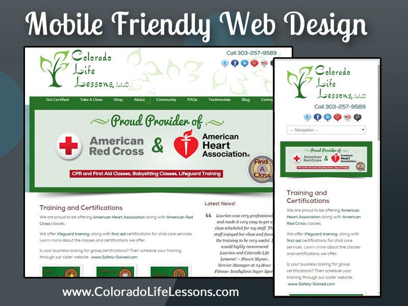 Blue Zenith Web Design Mobile Friendly Web Design