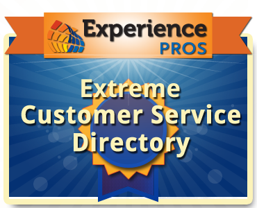 Experience Pros extreme customer service directory, small business directory listings