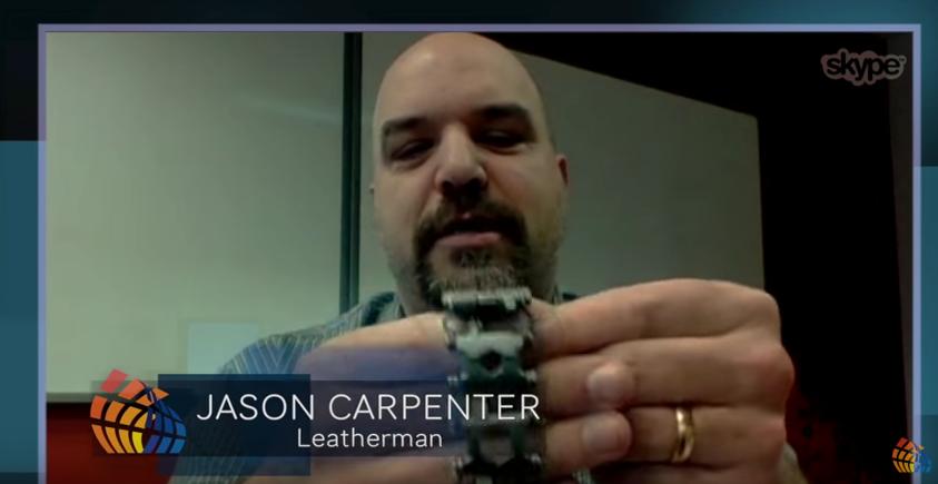 Jason Carpenter Leatherman